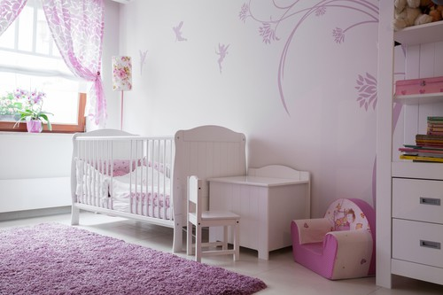 Circular as well as rectangular rugs are perfect for a kids' room or a nursery.