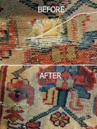 Our Rug Repair and Stain Removal