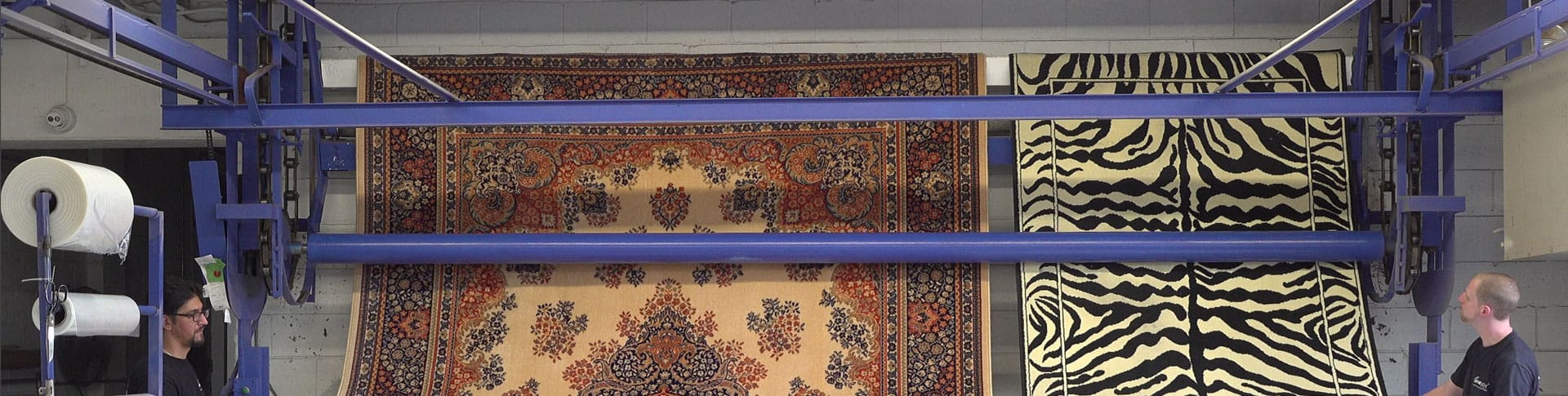 Professional Silk Rug Washing