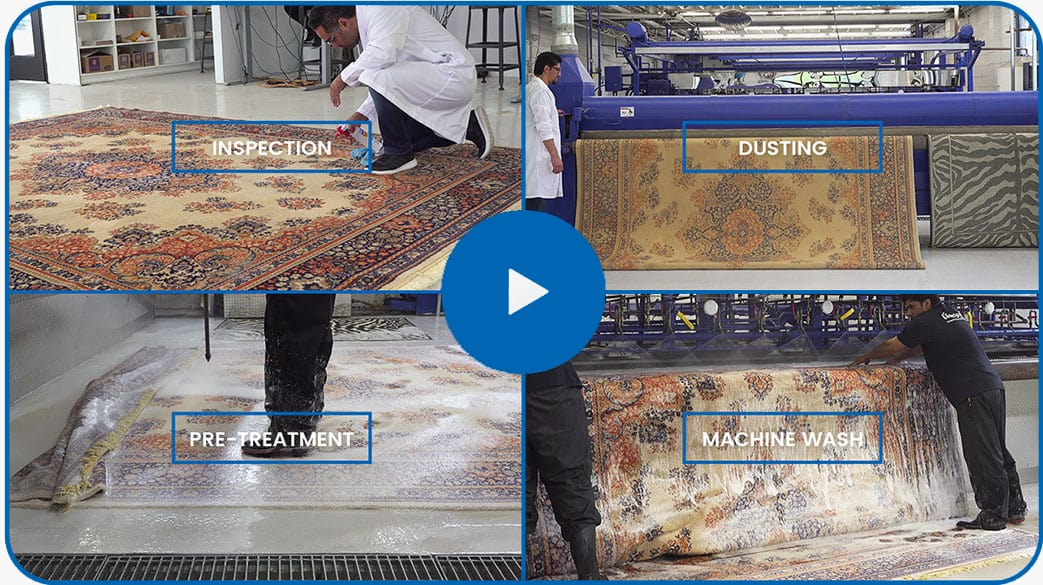 rug cleaning process video thumb