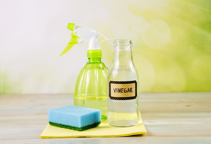 vinegar as a cleaning solution
