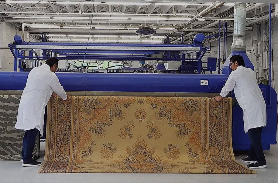 Cleaning rugs in Barrier for over a Century