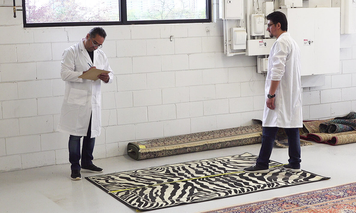 How to find out what type of rug you have?